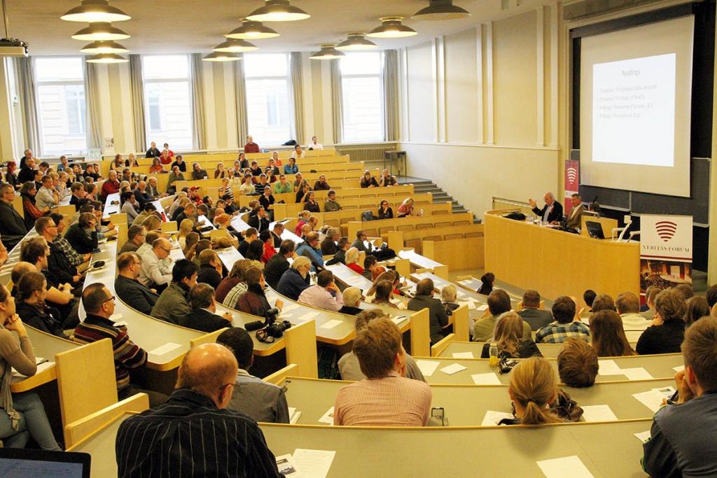 Veritas Forum Helsingin yliopistossa.